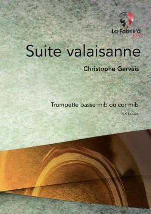 Christophe Gervais - Valaisan Suite - Sheet Music - di-arezzo.com