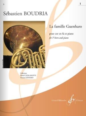 La Famille Guenharo - Volume 1 Sébastien Boudria laflutedepan