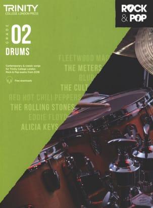 Trinity Rock and Pop 2018 -20 Drums Grade 2 - laflutedepan.com