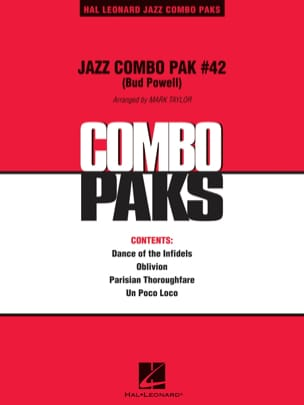 Jazz Combo Pak # 42 Bud Powell Partition ENSEMBLES - laflutedepan