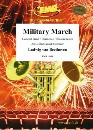 Military March BEETHOVEN Partition ENSEMBLES - laflutedepan