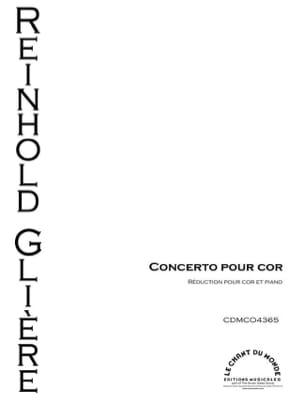 Concerto pour Cor, Opus 91 Reinhold Glière Partition laflutedepan