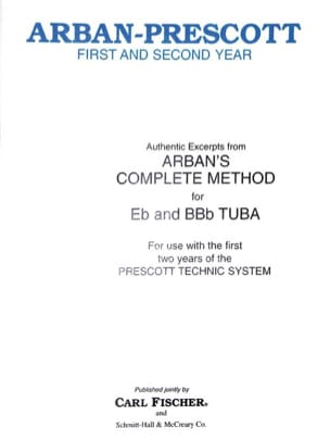 Jean-Baptiste Arban - Authentic Excerpts From Arban's Complete Method for Tuba - Sheet Music - di-arezzo.co.uk