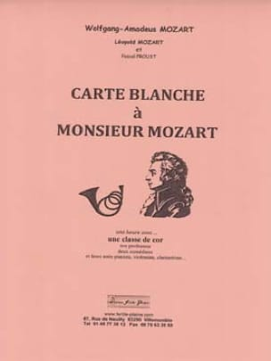 Pascal Proust - Carte blanche to Monsieur Mozart - Sheet Music - di-arezzo.com