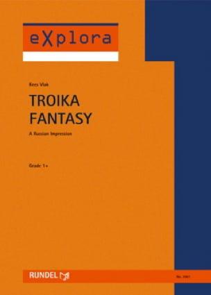 Troika Fantasy Kees Vlak Partition ENSEMBLES - laflutedepan