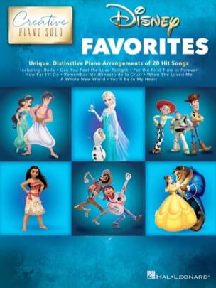 Creative Piano Solo - Disney Favorites - DISNEY - laflutedepan.com