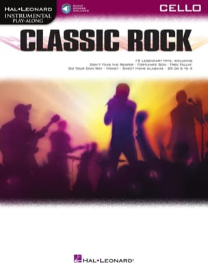 Classic Rock - Partition - Violoncelle - laflutedepan.com
