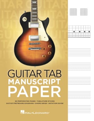 Cahier de Musique - Guitar tablature notebook - Stationery - di-arezzo.co.uk