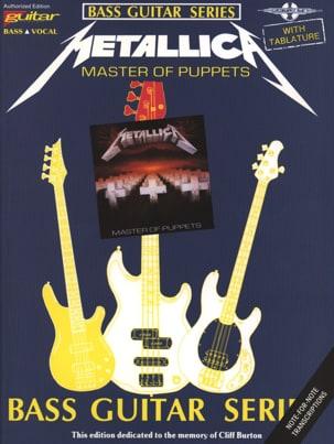 Master of Puppets Metallica Partition Pop / Rock - laflutedepan