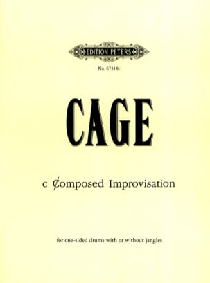 c Composed Improvisation - CAGE - Partition - laflutedepan.com