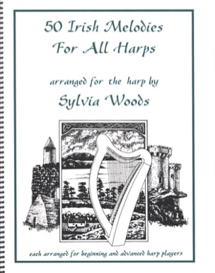 50 Irish Melodies for All Harps Partition Harpe - laflutedepan