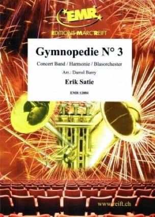 Gymnopedie N° 3 Erik Satie Partition ENSEMBLES - laflutedepan