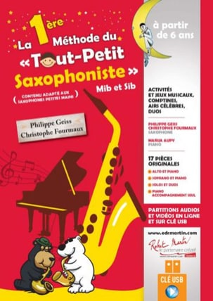 - The 1st Method of the Little Saxophonist - Sheet Music - di-arezzo.co.uk