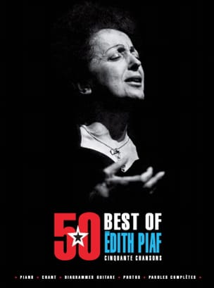Edith Piaf - 50 Best Of - Edith Piaf - Sheet Music - di-arezzo.com