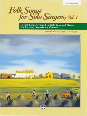 - Folk Songs for Solo Singers - Volume 1 Medium High - Sheet Music - di-arezzo.co.uk