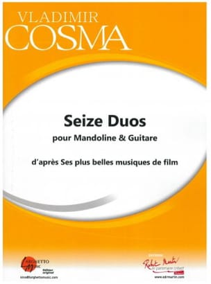 Vladimir Cosma - Sixteen Duos for Mandolin and Guitar - Sheet Music - di-arezzo.co.uk