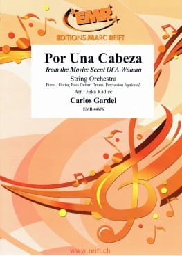 Por Una Cabeza Carlos Gardel Partition ENSEMBLES - laflutedepan