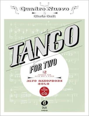 Tango For Two - Saxo Alto Partition Saxophone - laflutedepan