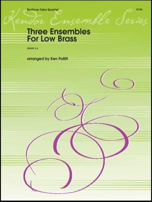 Three Ensembles For Low Brass Partition Tuba - laflutedepan