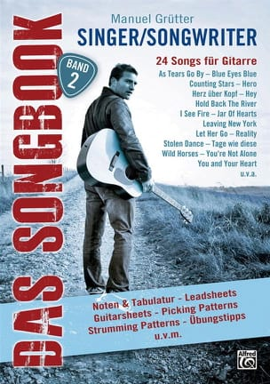 - Singer / Songwriter Das Songbook - Band 2 - Sheet Music - di-arezzo.co.uk