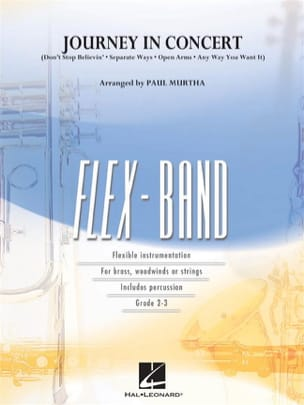 Journey In Concert - FlexBand Journey Partition laflutedepan