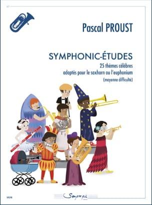 Symphonic-études Pascal Proust Partition Tuba - laflutedepan
