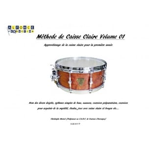 Christophe Merzet - Snare Method - Volume 1 - Sheet Music - di-arezzo.co.uk