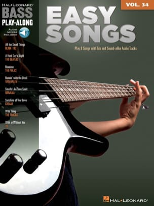 - Bass Play-Along Volume 34 - Easy Songs - Sheet Music - di-arezzo.co.uk
