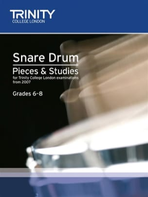 Auteurs Divers - Snare Drum - Pieces And Studies 2007 - Grades 6-8 - Partition - di-arezzo.fr