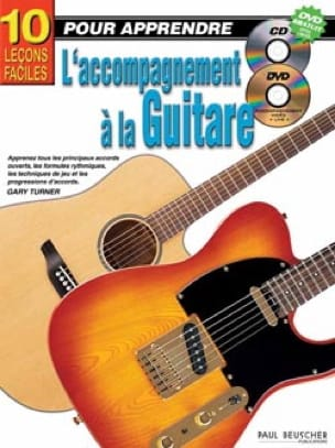 Gary Turner - 10 Easy Lessons to Learn Guitar Accompaniment - Sheet Music - di-arezzo.co.uk