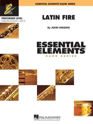 Latin Fire - Essential Elements Band Series - laflutedepan.com