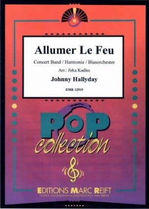 Johnny Hallyday - Light the fire - Sheet Music - di-arezzo.com