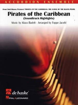 Pirates des Caraïbes - Accordéons Klaus Badelt Partition laflutedepan