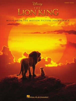 DISNEY - The Lion King - Music of the movie 2019 - Sheet Music - di-arezzo.co.uk