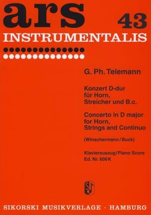 Concerto en Ré Majeur - Georg Ph Telemann - laflutedepan.com