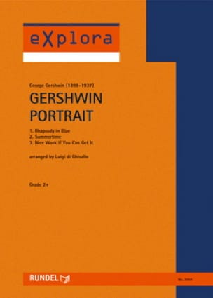 Gershwin Portrait George Gershwin Partition ENSEMBLES - laflutedepan