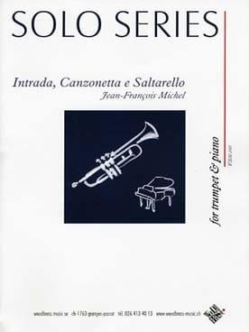 Intrada, Canzonetta e Saltarello Jean-François Michel laflutedepan
