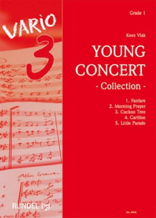 Young Concert Collection Kees Vlak Partition ENSEMBLES - laflutedepan