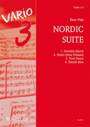 Nordic Suite Kees Vlak Partition ENSEMBLES - laflutedepan