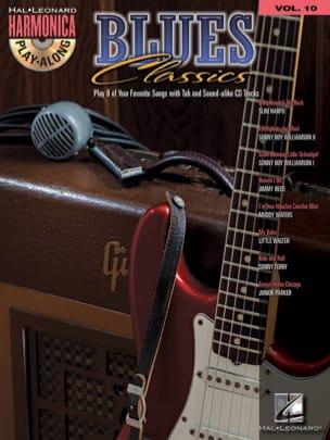 Harmonica Play-Along Volume 10 - Blues Classics laflutedepan