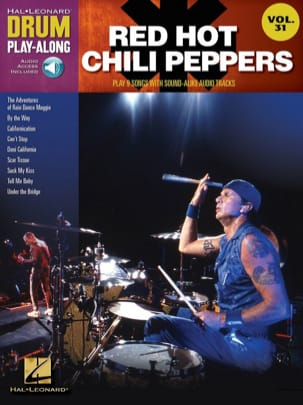 Drum Play-Along Volume 31 - Red Hot Chili Peppers laflutedepan