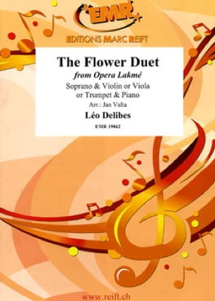 The Flower Duet - Opera Lakmé DELIBES Partition laflutedepan