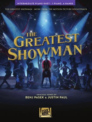 The Greatest Showman - 4 Mains Partition Piano - laflutedepan