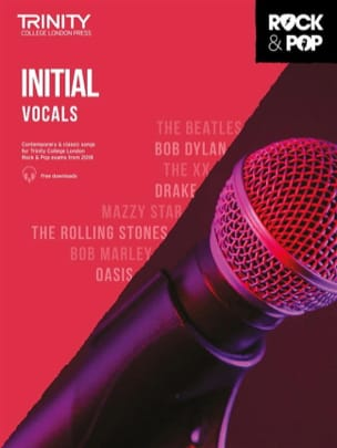 Auteurs Divers - Trinity Rock and Pop 2018 -20 Initial Vocals - Sheet Music - di-arezzo.co.uk