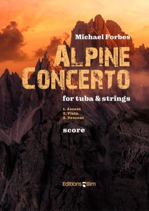 Michael Forbes - Alpine Concerto - Partition - di-arezzo.fr