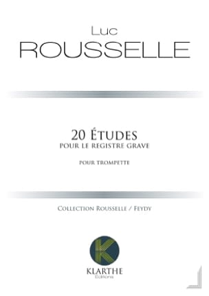 Luc Rousselle - 20 Studies for the serious register - Sheet Music - di-arezzo.com