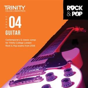 Trinity Rock And Pop 2018-20 Guitar Grade 4 CD - laflutedepan.com