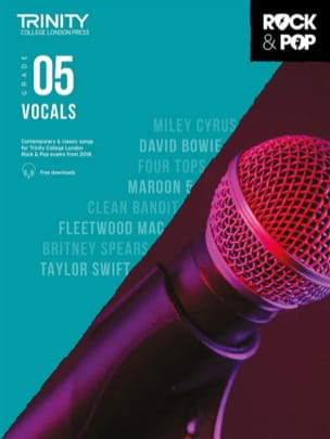 Auteurs Divers - Trinity Rock and Pop 2018 -20 Vocals Grade 5 - Sheet Music - di-arezzo.co.uk