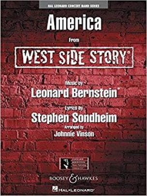 America - West Side Story Leonard Bernstein Partition laflutedepan