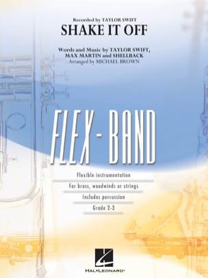 Shake It Off - FlexBand - Swift Taylor - Partition - laflutedepan.com